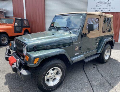 SOLD  2002 JEEP WRANGLER SAHARA SPORT FOR SALE NORTH PROVIDENCE, RI | 2002 Jeep Wrangler Sahara For Sale RI | Jeep Wrangler For Sale